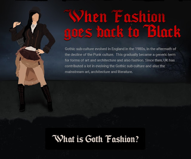 When Fashion Goes Back to Black