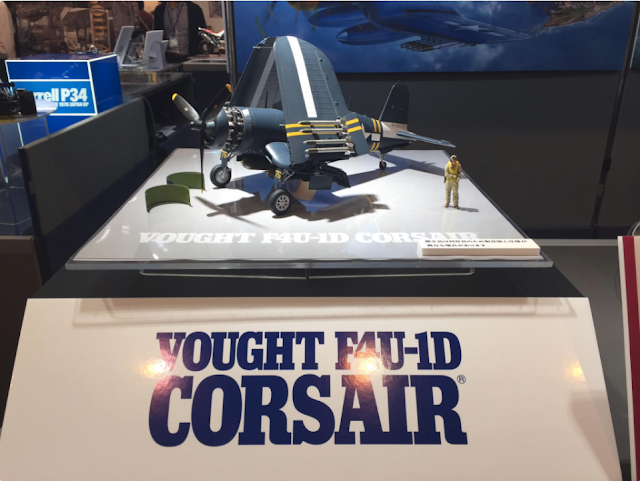 1/32 Tamiya Corsair Vought F4U-1D new release 2017