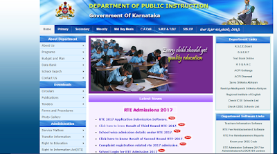 Department of Public Instruction in Karnataka