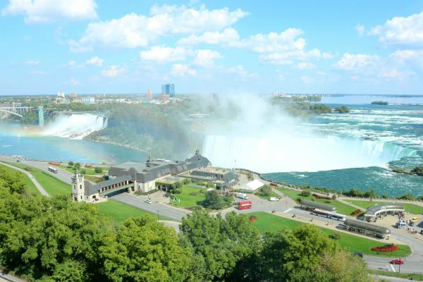 Niagara Falls | Regenbogen über den Niagarafällen
