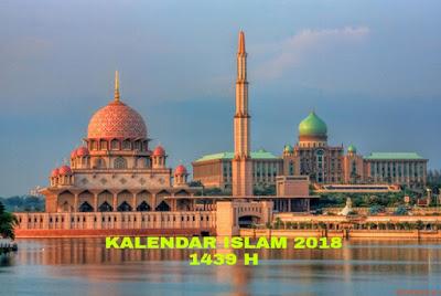 Kalendar Islam 2018 1439-1440H Tarikh Penting