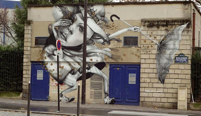Мрачные рисунки на стенах. Ethos 11