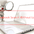 Facebook Profile Search without Logging In