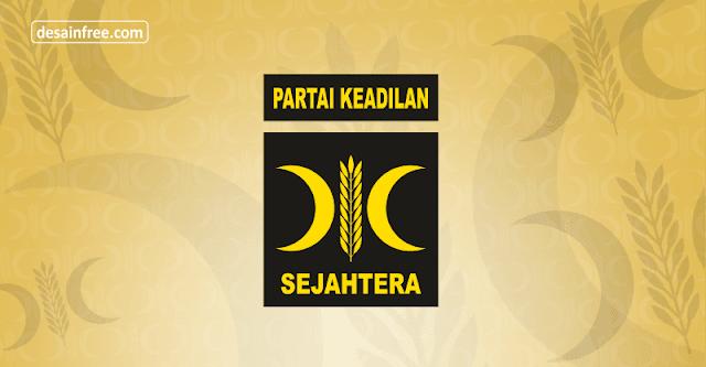 Logo PKS (Partai Keadilan Sejahtera) Format CDR