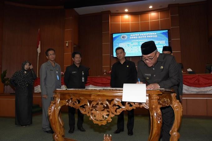 DPRD Kota Depok Setujui Raperda APBD Perubahan Tahun 2108