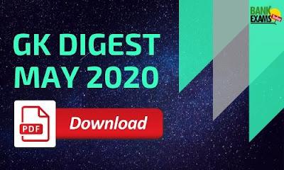 GK Digest May 2020: Download PDF