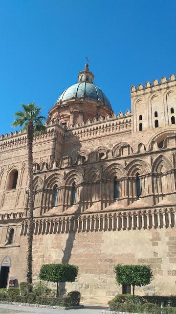 Katedra Unesco Palermo, Sycylia, widok na kościół