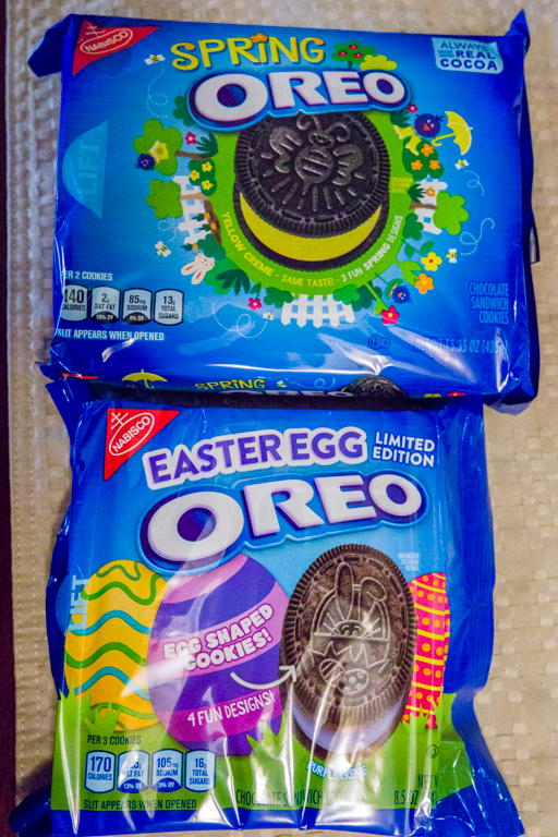 Tales of the Flowers: Spring Oreos and Easter Oreos