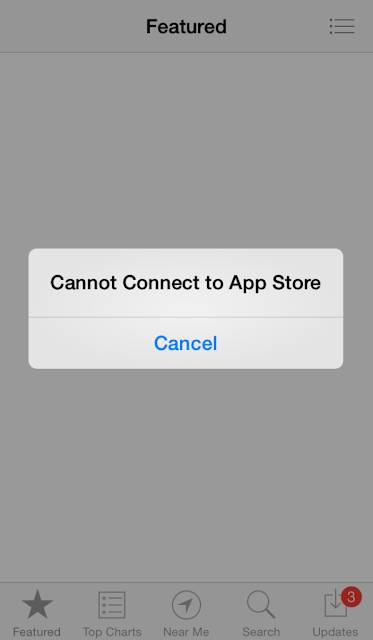How to fix 'Can't connect to app store' error on iPhone