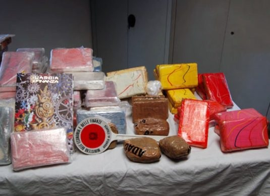 Is sentenced to 16 years in prison in Italy the Albanian caught with 93 kilos of cocaine