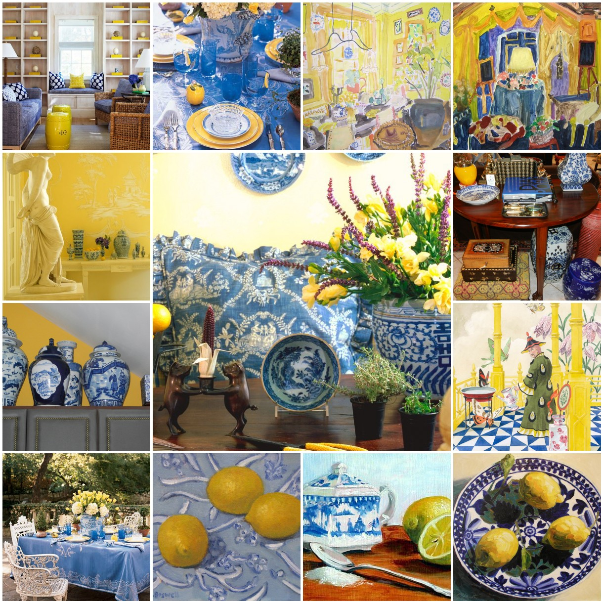 Kitchen Color Inspiration - 12 Shades Of Blue Cabinets