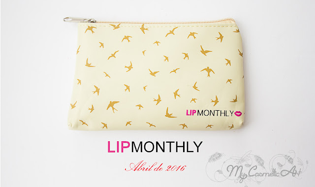 Lip Monthly de abril de 2016