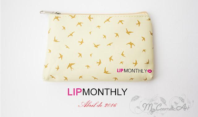Lip Monthly de abril de 2016