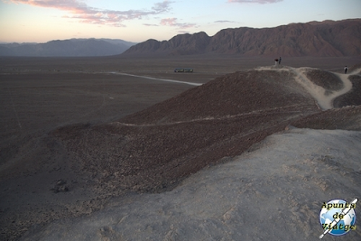 Promontorio desde donde ver algunas de las figuras de Nazca