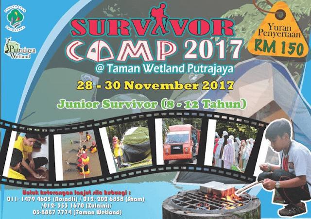 Survivor Camp, Taman Wetland, Putrajaya,