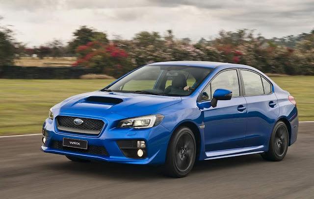 Subaru tira 4 modelos de linha no Brasil