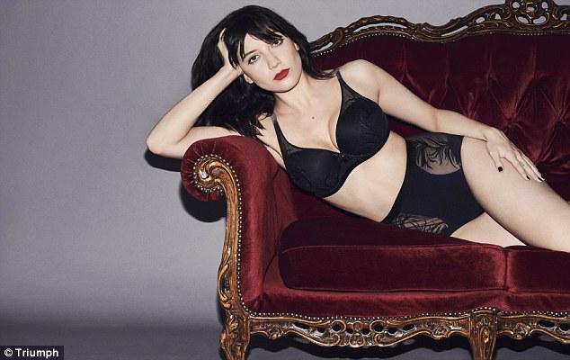 Triumph Lingerie Fall/Winter 2016 Campaign stars Daisy Lowe
