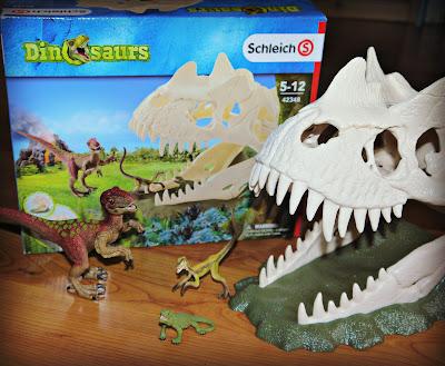 Shleich Dinosaurs Large Skull Trap