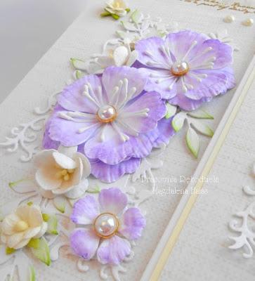 Fioletowe kwiaty…