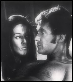 Maria de Aragon and Peter Carpenter in BLOOD MANIA (1970) from Crown International Pictures