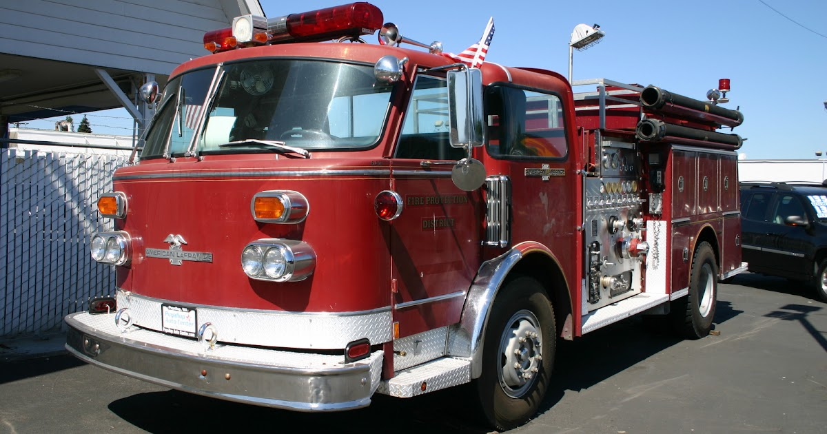 Spotted American Lafrance Fire Truck Series 900 The