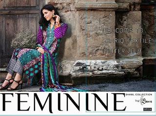 Feminine Shawl Collection 2014-2015