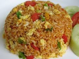 Resep Masakan Mudah Nasi Goreng Wortel dan Kacang Polong