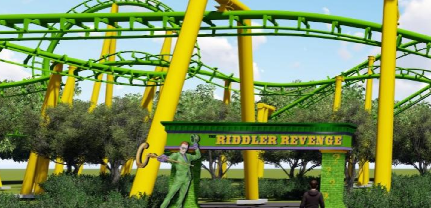 Newsplusnotes Six Flags New England Announces New Gotham City