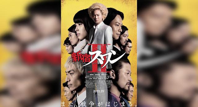 Sinopsis, detail, dan nonton trailer Film Shinjuku Swan 2 (2017)