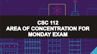 TASUED EXAM : Topics To read For CSC112 upcoming Exam with Pdf's - Download Here