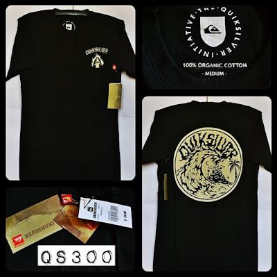 Kaos Distro Surfing Skate QUIKSILVER Premium Kode: QS300