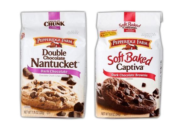 Isreview Pepperidge Farm S Captiva Brownie Nantucket Dark Chocolate Cookies