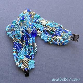 оригинальные украшения ручной работы в стиле бохо браслет из бисера