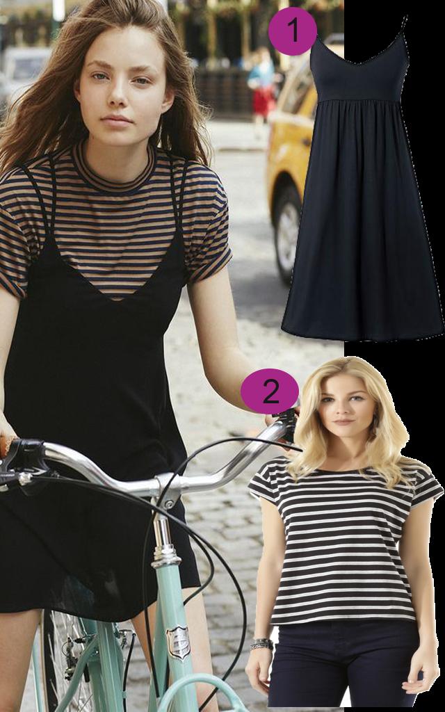 Get The Look (Roube o Look): Vestido sobre camiseta - Como usar, dicas e onde comprar