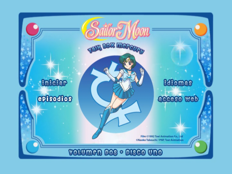 Sailor Moon Talk Box Mercury Disco 01 DVD9
