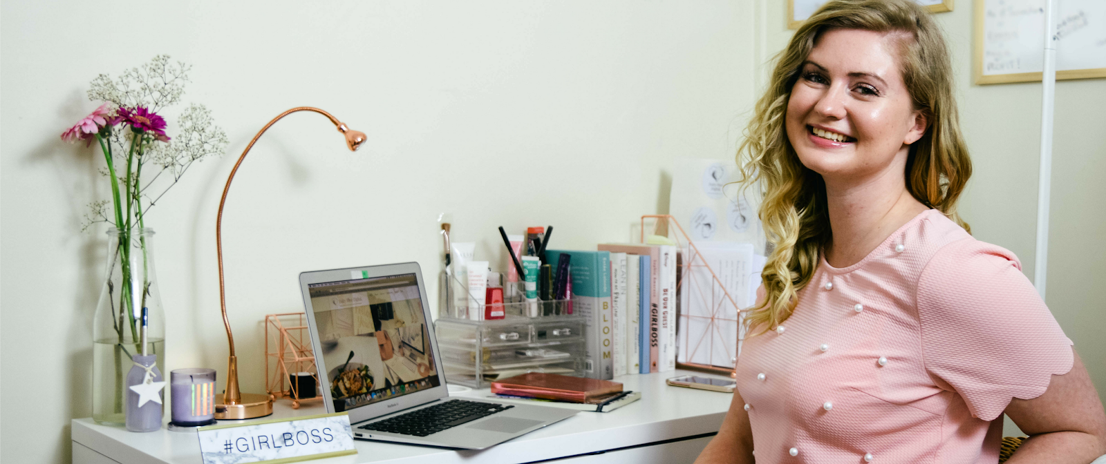 Tips How To Stay Productive When Working From Home, Dalry Rose Blog, Hampshire bloggers