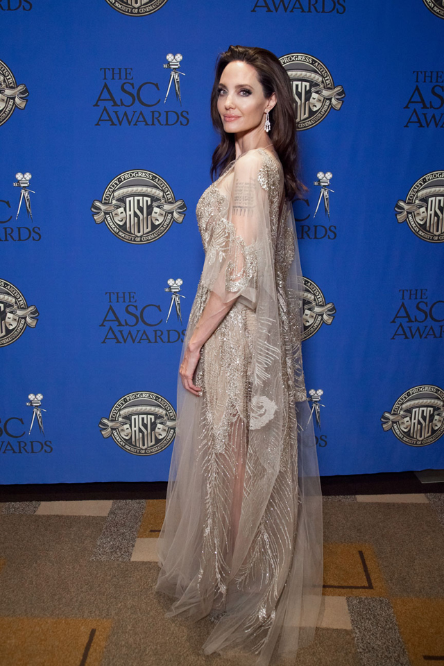 Angelina Jolie. 32nd ASC Awards ©George Leon/filmcastlive