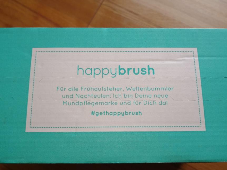 HAPPYBRUSH - MACHT DIE MICH HAPPY?