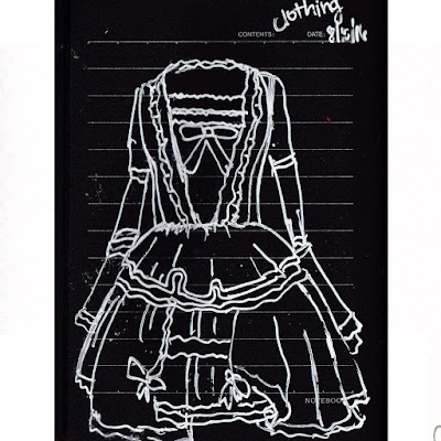 lolita dress drawing