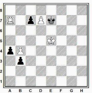 Estudio artístico de ajedrez compuesto por Joaquim Travesset (Inédito, 2014)