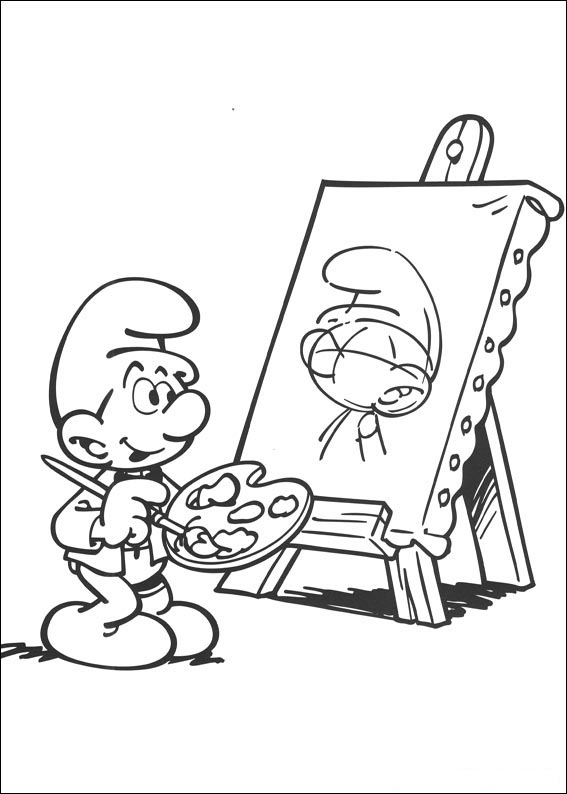 The Smurfs Coloring Pages ~ Free Printable Coloring Pages ...