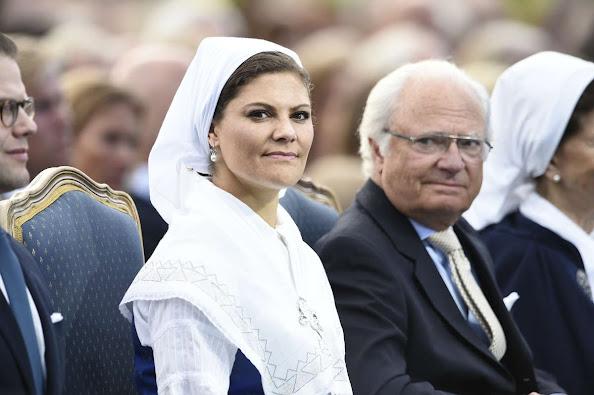 King Carl Gustaf of Sweden, Crown Princess Victoria of Sweden