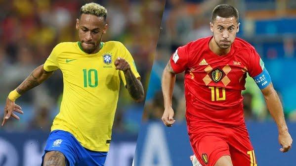 Mondiali 2018: BRASILE BELGIO Streaming Rojadirecta e Diretta TV su Canale 5 Oggi 6 Luglio.