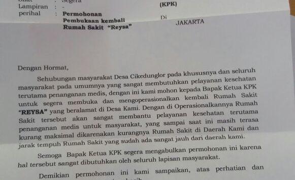 Mantan Panitera Pengganti PN Jakut Surati Presiden Jokowi
