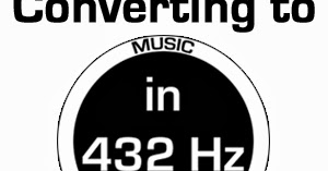 Our Solaris: How to Convert Music from 440 hz to 432 hz Tutorial