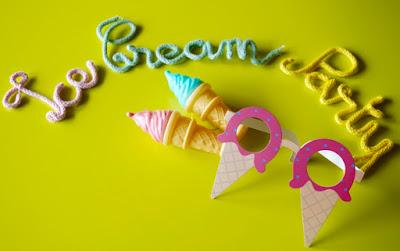 DIY ice cream party