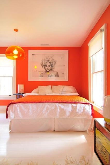 quarto laranja