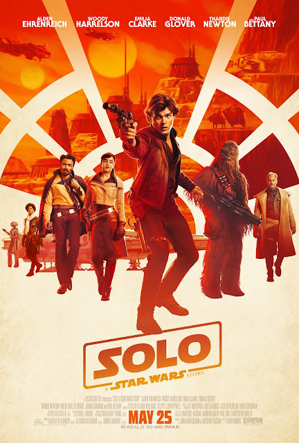 Review of the new Solo: A Star Wars Story, this is a must see for any Star Wars fan! #HanSoloEvent #HanSolo