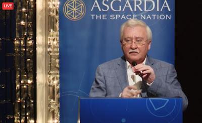 """Asgardia, la """"primera nación en el espacio"""", ya tiene su primer satélite orbitando AsgardiaPressRelease"""