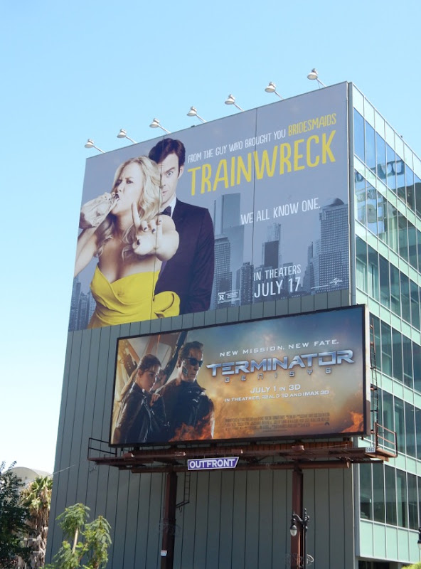 Giant Trainwreck movie billboard